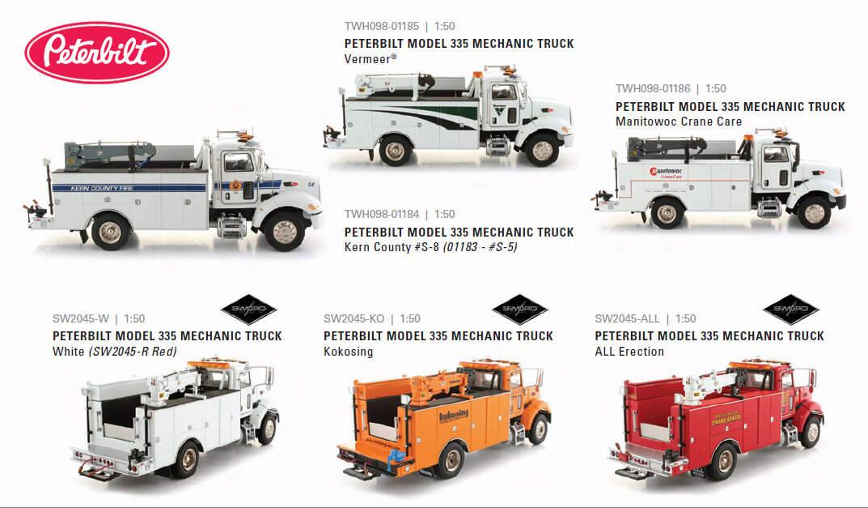 比例模型玩具天地» [TWH] Peterbilt 335 mechanic truck
