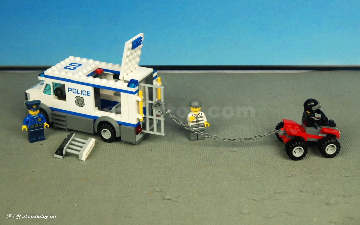 lego city prisoner transporter 60043 instructions
