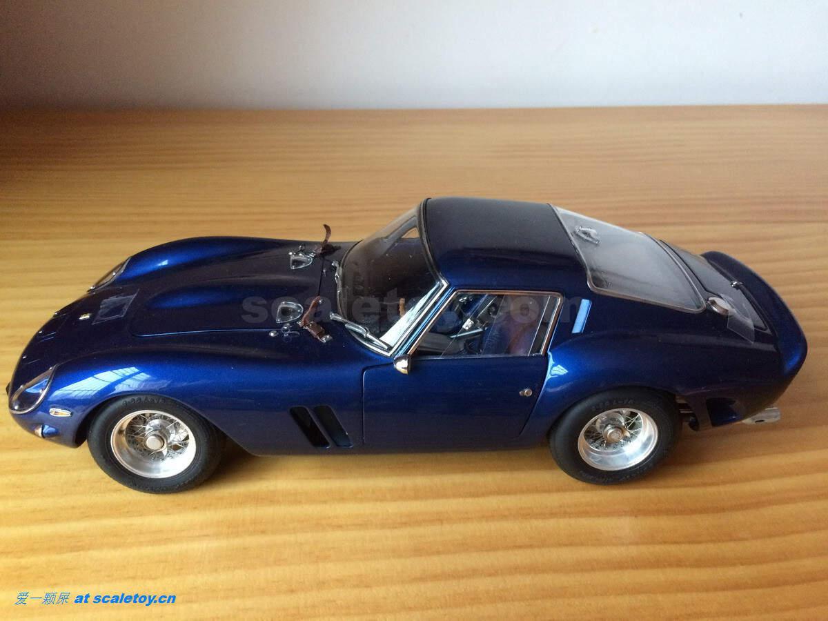 法拉利加利福尼亚_比例模型玩具天地 » [CMC] Ferrari_250GTO Blue 1/18
