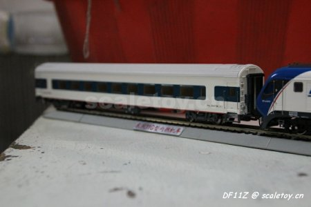 """北京百万城火车模型_比例模型玩具天地 » 专运处DF11Z:百万城火车模型—DF11G""""跨越 ..."""