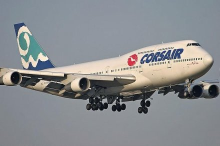 747 for Interieur 747 corsair
