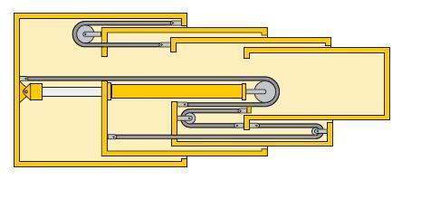起重机伸缩臂的结构原理