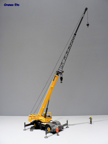 Mobile Crane Jib : ? cranes etc nzg grove rt e mobile crane