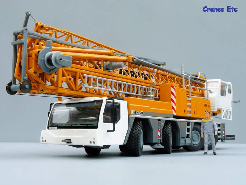cranes etc conrad liebherr mk 88 mobile construction crane mk88. Black Bedroom Furniture Sets. Home Design Ideas