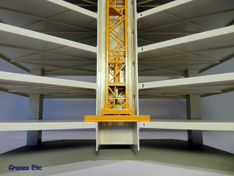 比例模型玩具天地 187 Cranes Etc: Nzg Liebherr 160 Hc L Tower Crane