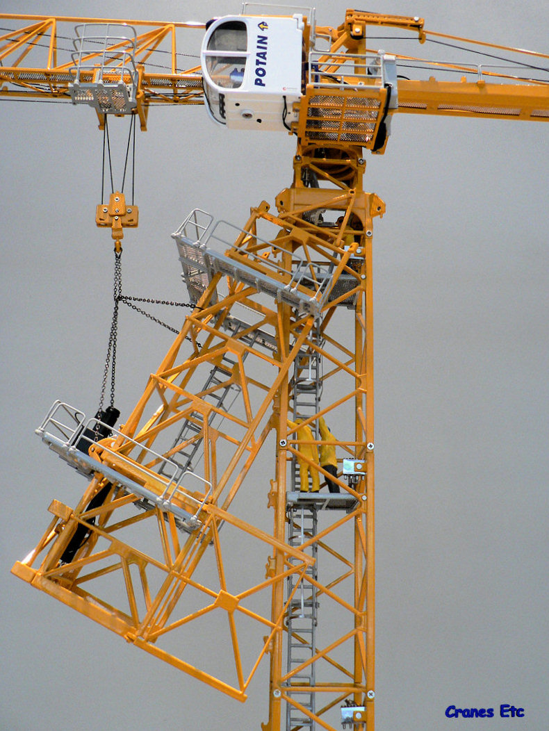 cranes etc:[twh] potain mdt 178 climbing cage 塔吊爬升舱