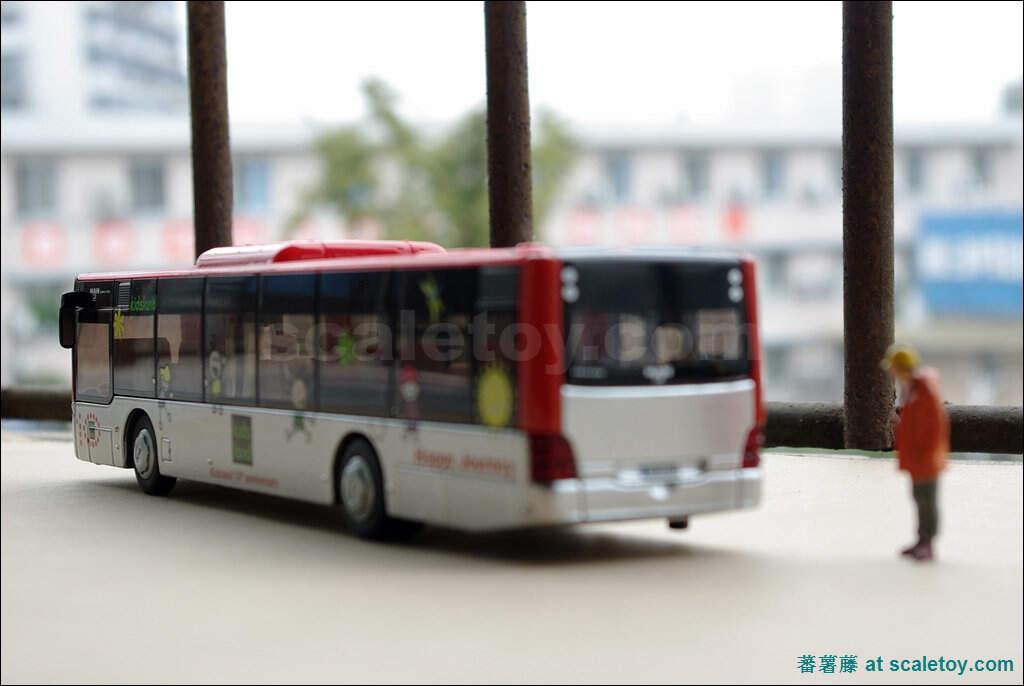 狗仔的香港老式双层巴士