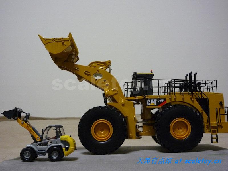 工地大卡车_比例模型玩具天地 » [Norscot] CAT 994F Wheel Loader 卡特彼勒994F轮式 ...