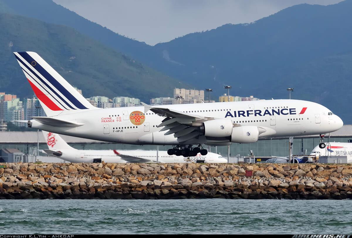 """b-2047 中国国际航空公司 波音777-300er """"中法建交50周年"""" 飞机模型"""